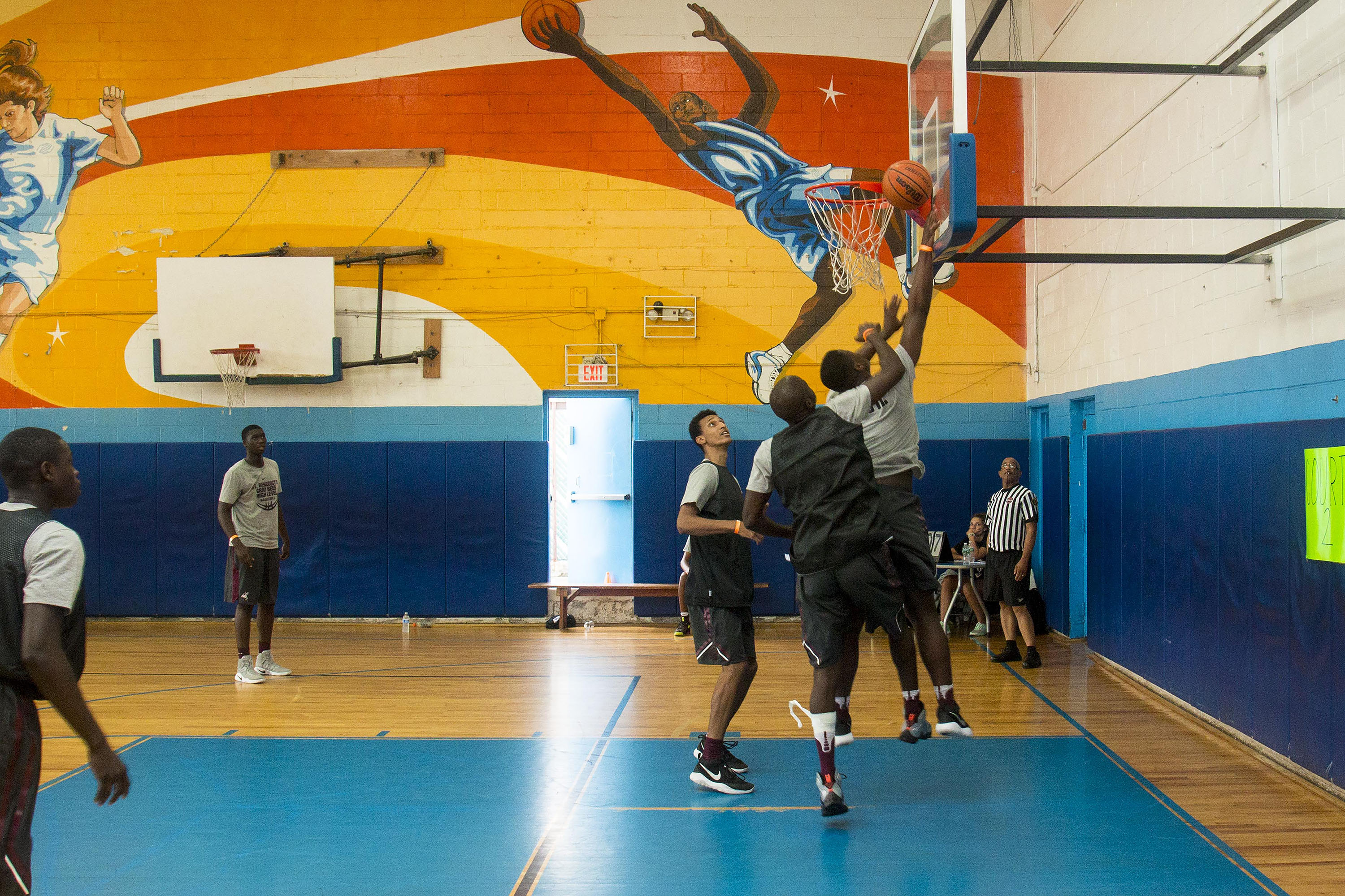 L-Train Memorial Foundation - Annual 3-On-3 Tournament (Boys and Girls Club Union, NJ) 08-07-16_0116
