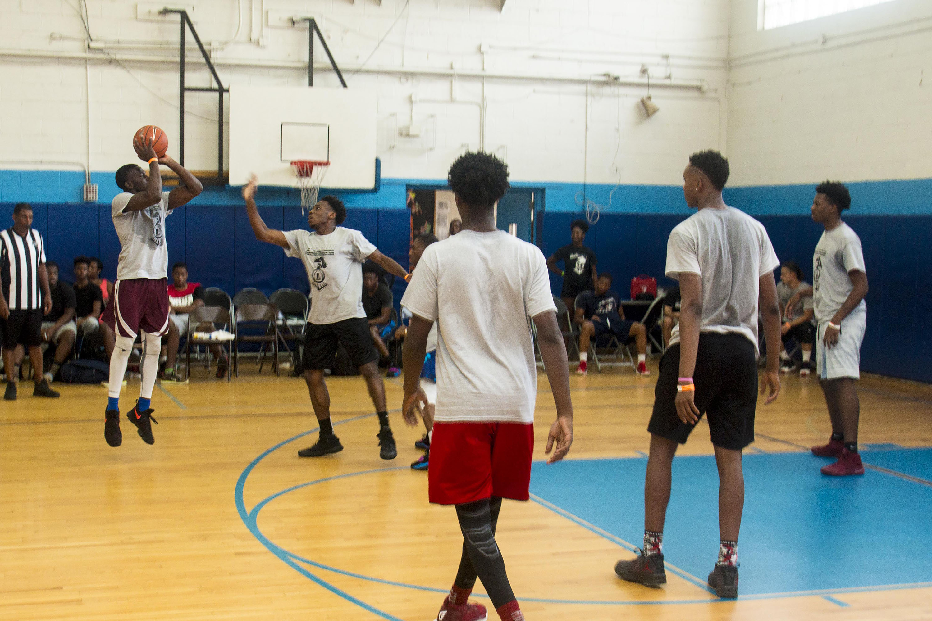 L-Train Memorial Foundation - Annual 3-On-3 Tournament (Boys and Girls Club Union, NJ) 08-07-16_0155
