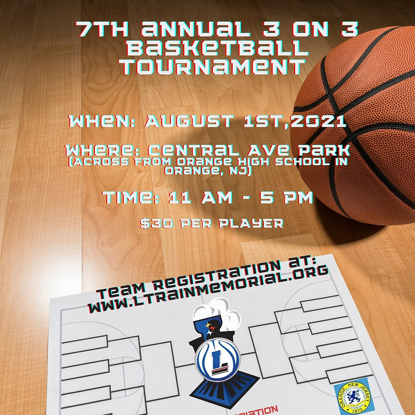 7th Annual 3 on 3 Tournament