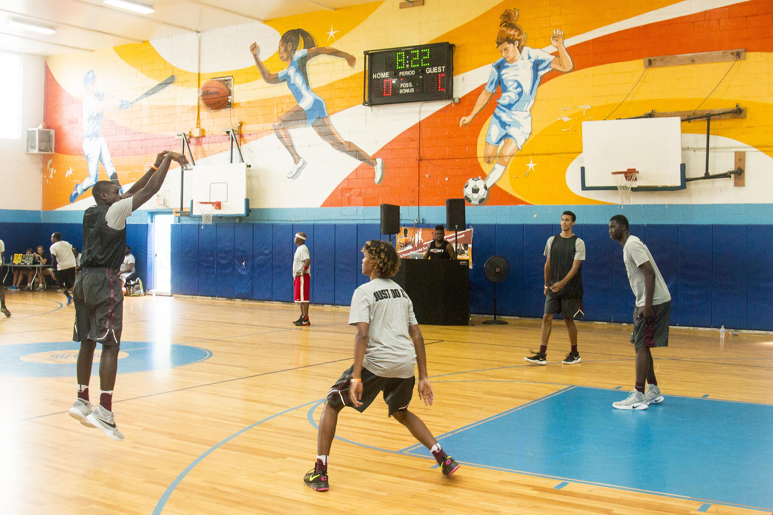 L-Train Memorial Foundation - Annual 3-On-3 Tournament (Boys and Girls Club Union, NJ) 08-07-16_0110