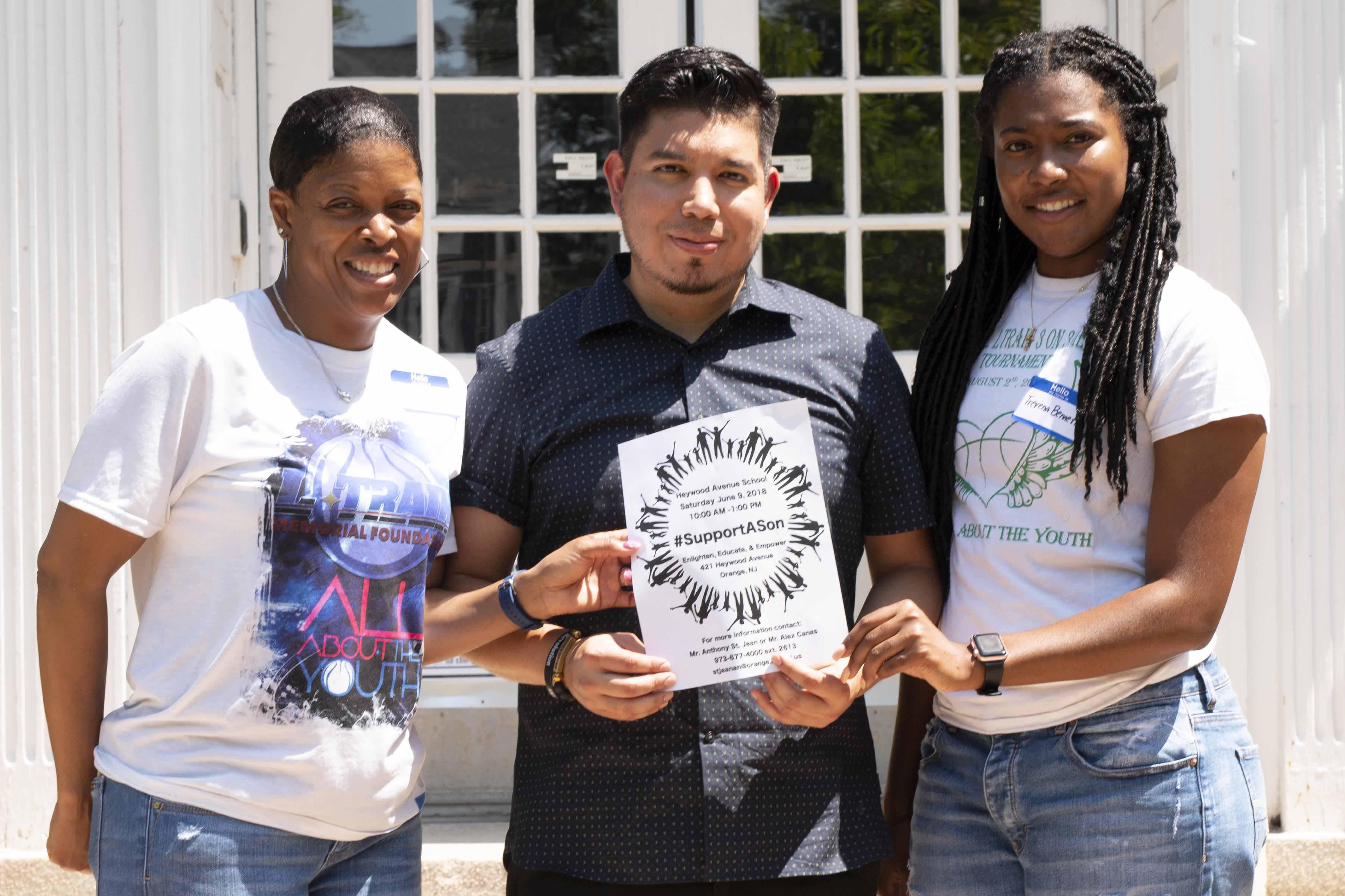 L-Train Memorial - #SupportASon (Heywood Avenue Elementary School, Orange NJ) 06-09-18_0039