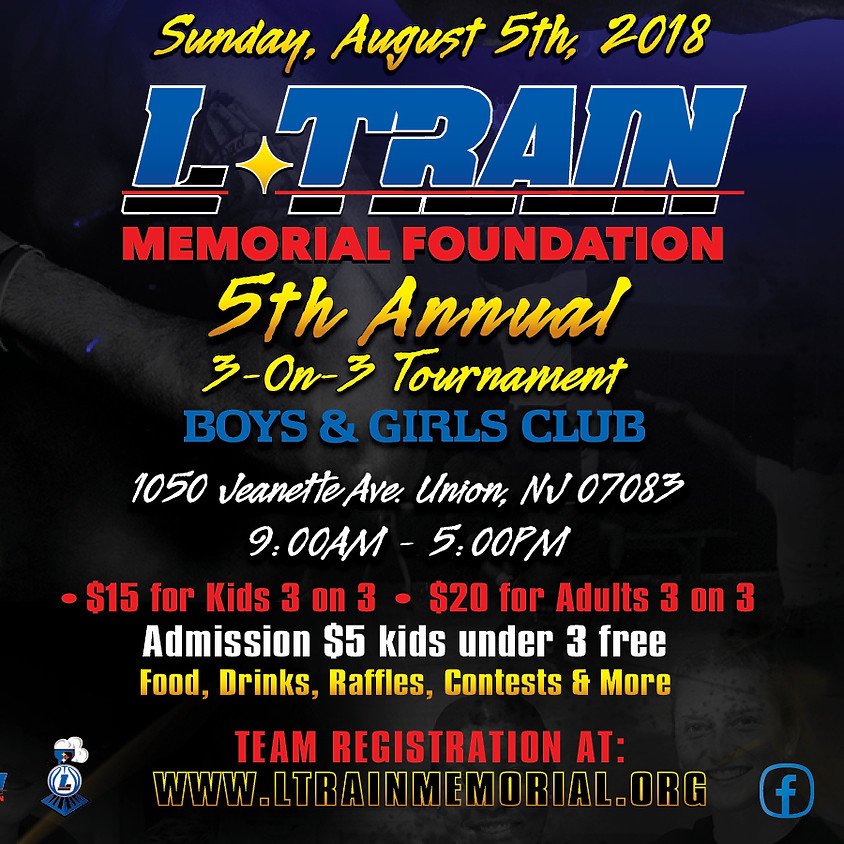 5th Annual 3 on 3 Tournament