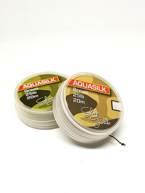 Aquasilk 25lb Soft Braid
