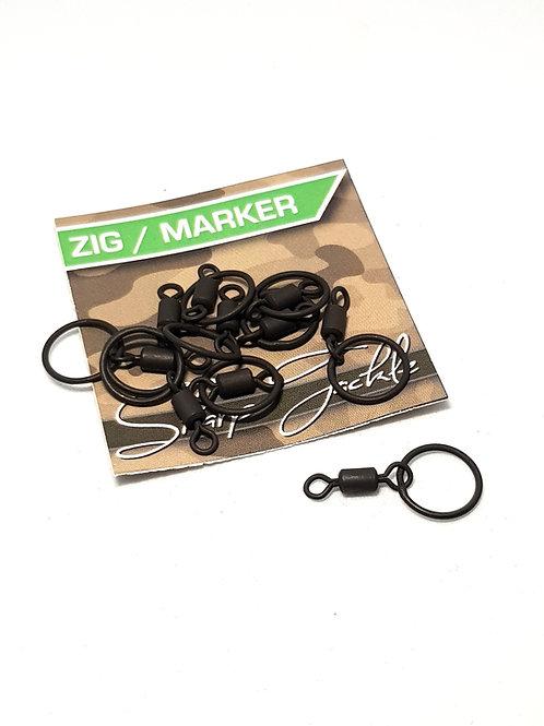 Zig / Marker Ring Swivels (20)