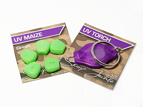 Glow In The Dark Maize + UV Torch