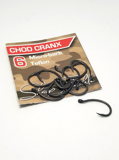 Coated Chod Cranx Barbless Hooks