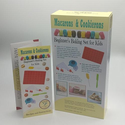 Macarons & Cookierons - Beginner's Baking Set for Kids