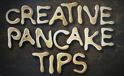 Pancake Party! Pancake Art for Kids creative pancake tips www.CookingwithKids.info