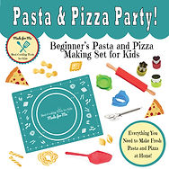 Pasta & Pizza Party! - Beginner's Pasta & Pizza Making Set for Kids