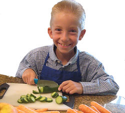 Children's Chef Knife  www.CookingwithKids.info