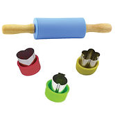 mini food cutters set of 3 with rolling