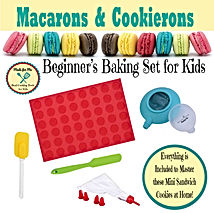 Macarons & Cookierons Making