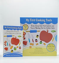 My First Cooking Tools - Kid Friendly Knives - www.CookingwithKids.info