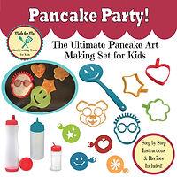 Pancake art making