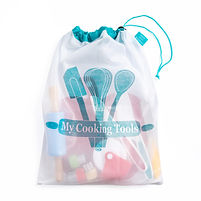 My Cooking Tools Storage Tote - www.CookingwithKids.info