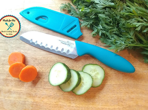 Beginner's Chef Knife for Kids - Designed & sized especially for Young Chefs!