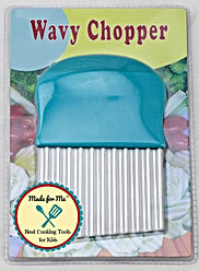 Wavy chopper with packaging front with l