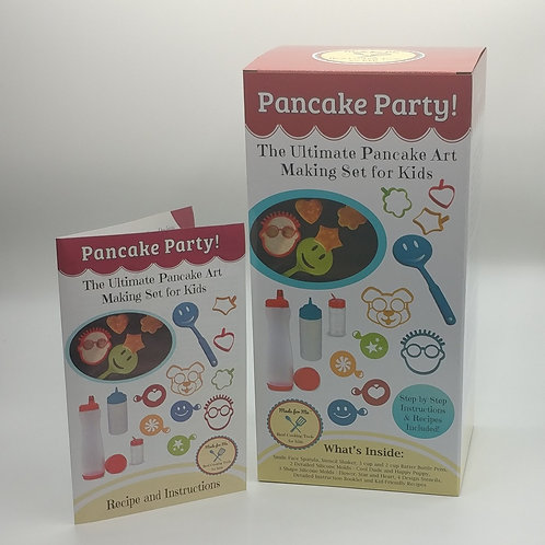 Pancake Party! - The Ultimate Pancake Art Making Set for Kids