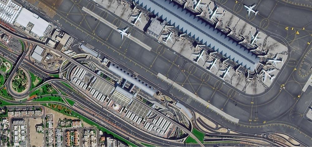 Earthscanner-1, 0.5m, 2021, Dubai Airport