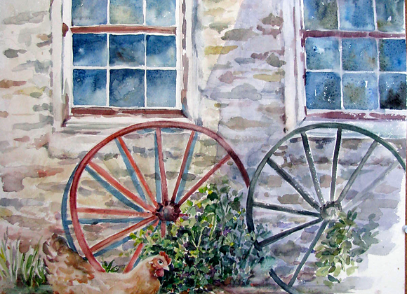 barn with wheels