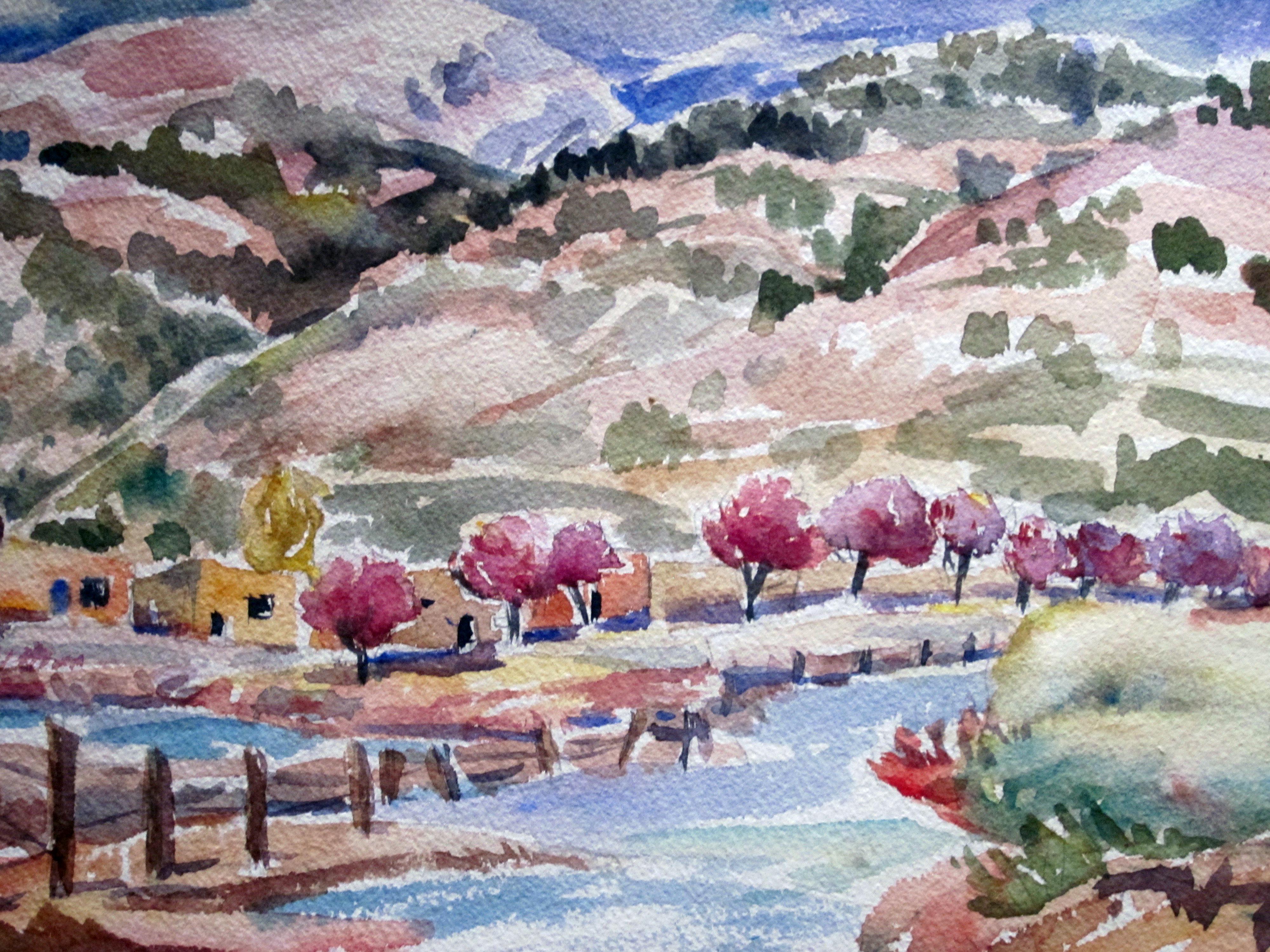 Taos village