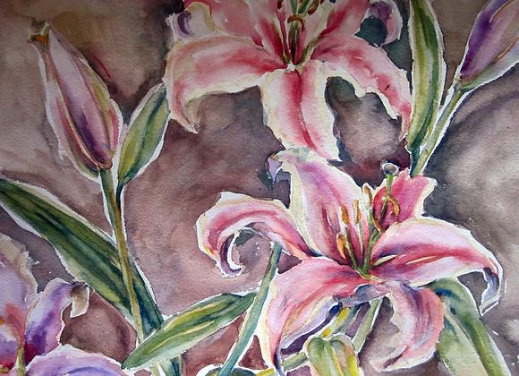 lilies abound