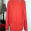Thumbnail: red-orange fleece pullover