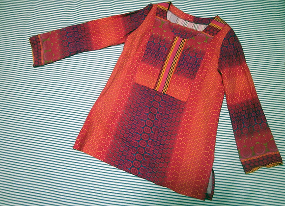 sunburst tunic