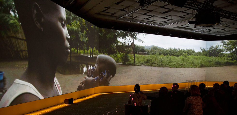 Panoramic Video Projection in Geneva