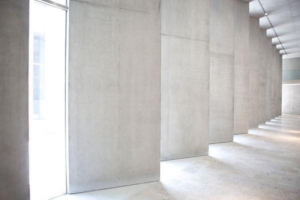 Weisse Wände