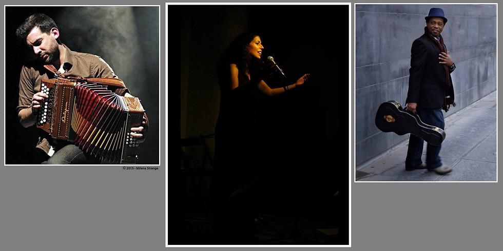 Constanza Guzman- Osman Martins- Jonathan De Neck en concert