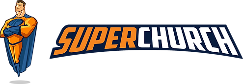 SuperChurch logo with hero.png