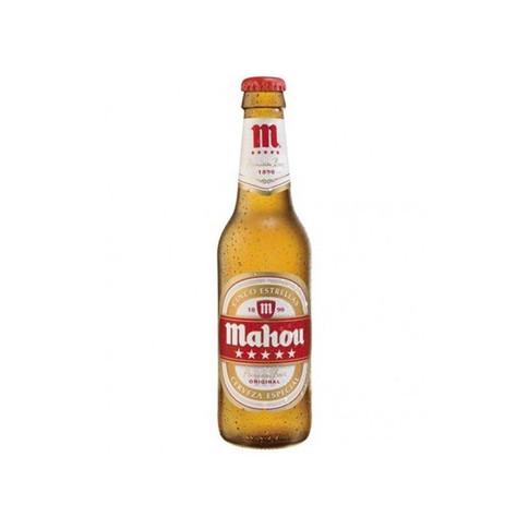 Cerveza Tercio Mahou 5*