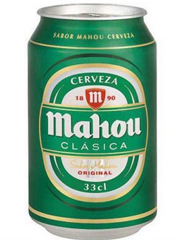 Cerveza Lata Mahou Clasica