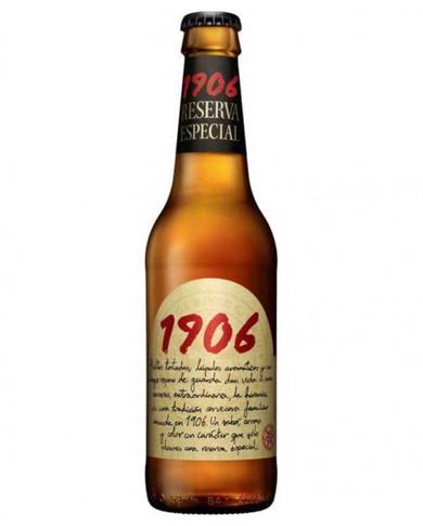 Cerveza Tercio Estrella Galicia 1906