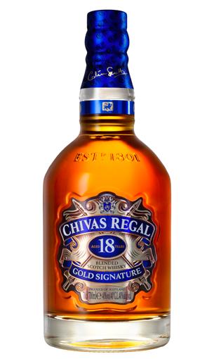 Whisky Chivas 18 años
