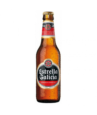 Cerveza Tercio Estrella Galicia