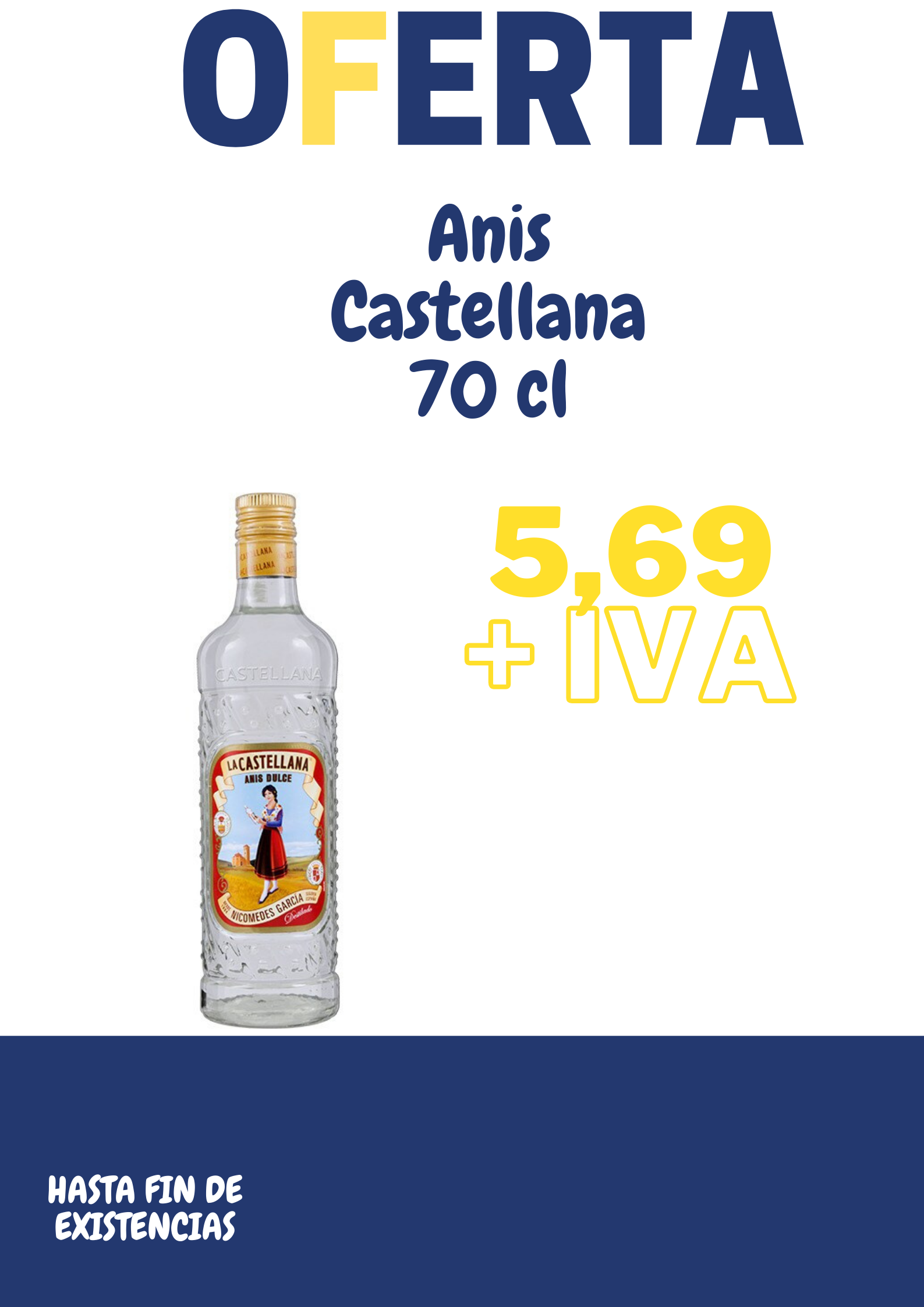 Oferta Anis castellana