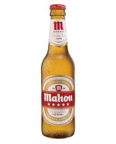 Cerveza Botellin Mahou 5*