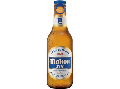 Cerveza Botellin Mahou SIN