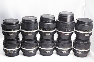 NIKON(ニコン) マニュアルフォーカスレンズ Ai-sシリーズ お買取りしました フィルムカメラ用 豊橋市のリサイクルショップならお宝専科豊橋店