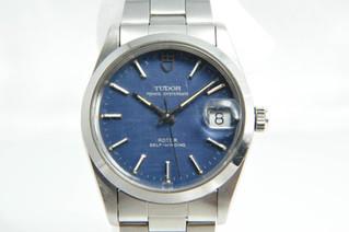 TUDOR(チュードル) プリンスデイト 格子青文字盤 自動巻き 腕時計 お買取りしました お宝専科豊橋店