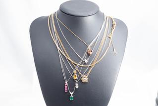 K18 Pt900 Pt850 ダイヤモンドネックレス 宝石 お買取りしました 豊橋市のリサイクルショップならお宝専科豊橋店
