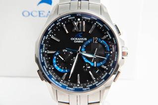 CASIO(カシオ) オシアナス マンタモデル OCW-S3400 電波ソーラー腕時計 お買取りしました お宝専科豊橋店