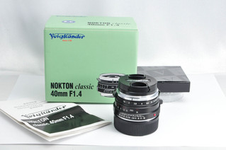 Voigtländer(フォクトレンダー) NOKTON Classic 40mm F1.4 MC お買取りしました お宝専科豊橋店