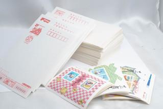 記念切手 郵便はがき 書き損じ お年玉付き年賀状 シートバラ切手まとめ お買取りしました 豊橋市のリサイクルショップならお宝専科豊橋店