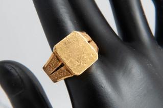 純金 K24 印台指輪 リング 貴金属 お買取りしました お宝専科豊橋店