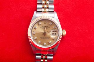 ROLEX(ロレックス) 69173G 10Pダイヤモンド デイトジャスト お買取りしました 豊橋市のリサイクルショップならお宝専科豊橋店