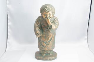 北村西望作 ブロンズ像 銅像 お買取りしました お宝専科豊橋店