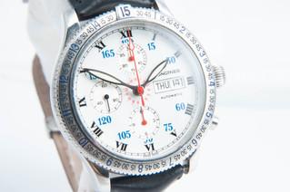 LONGINES(ロンジン) リンドバーグ クロノグラフ 自動巻き 腕時計 お買取りしました 豊橋市のリサイクルショップならお宝専科豊橋店